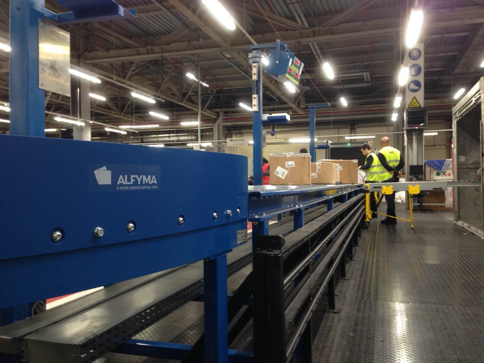 ALFYMA Service | Logistique